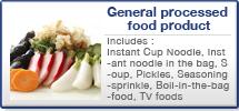 一般加工食品関連